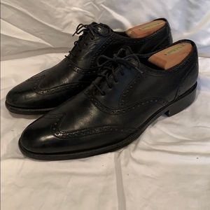 Cole Haan men's wingtip oxfords, Nike air soles